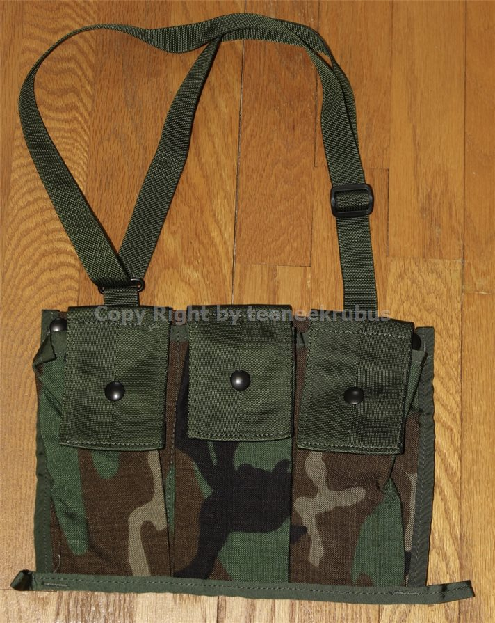 MOLLE ACU 6 Mag Ammo Pouch NEW US Military 6 Magazine Bandoleer Pouch